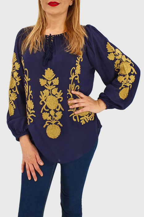 Bluza brodata manual Ramona