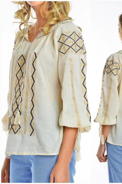 Bluza Traditionala brodata - Mihaela