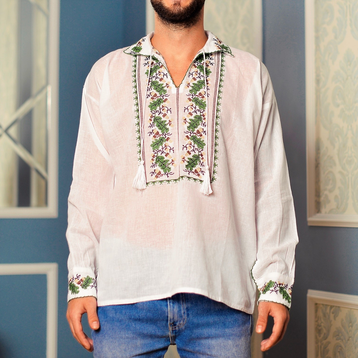 Camasa Traditionala barbateasca - Eugen
