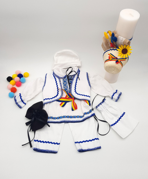 Compleu traditional baietel Adan 3