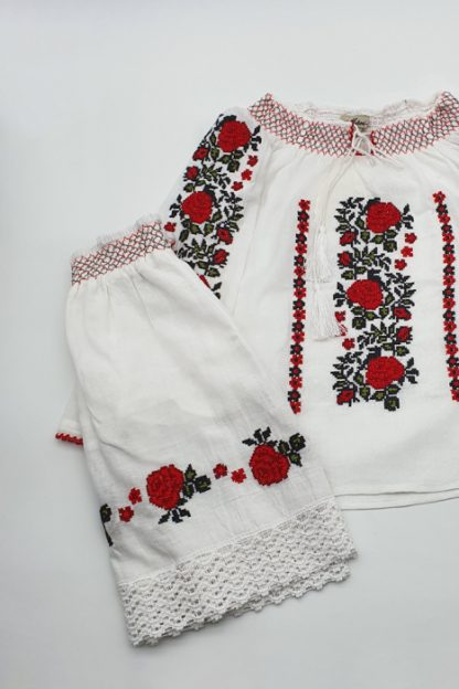 Compleu traditional fetite Eliana 2