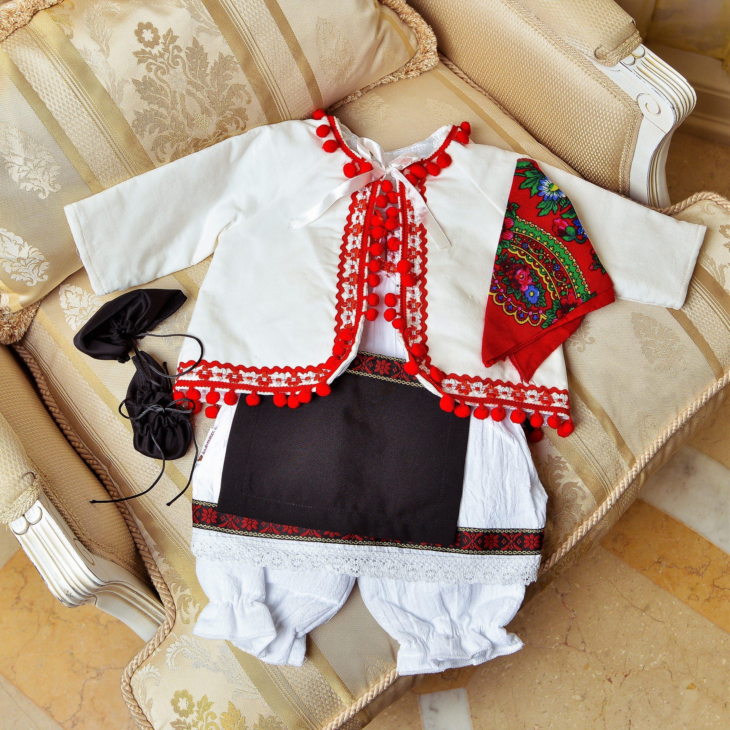 Costum traditional fete - Nadia