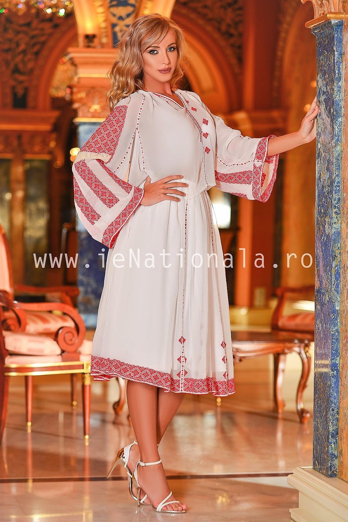 Costum traditional romanesc autentic unicat - vintage