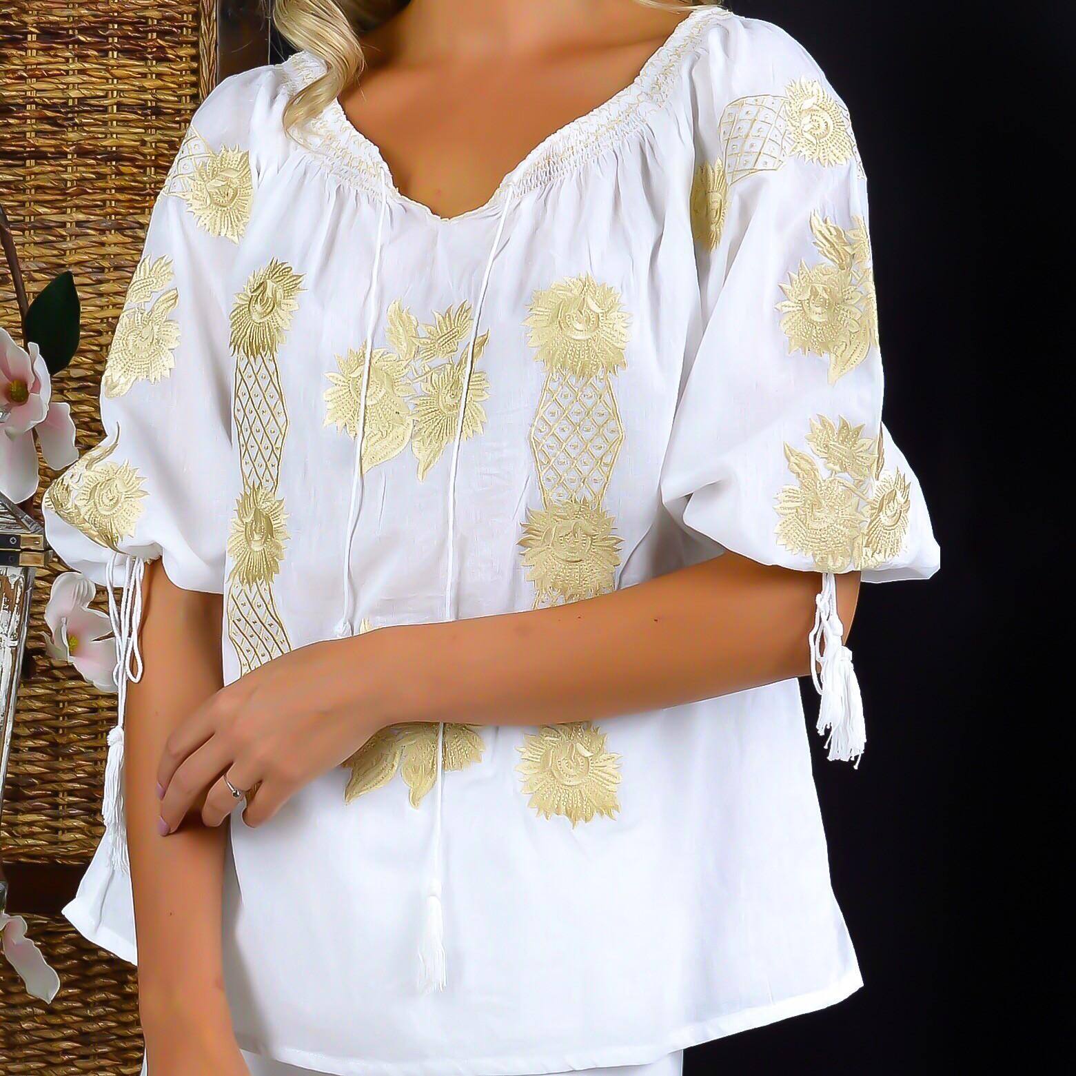 IE Traditionala cu broderie florala 3D - Claudia 02