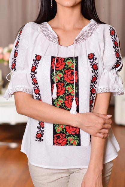 IE Traditionala cu broderie florala - Corina
