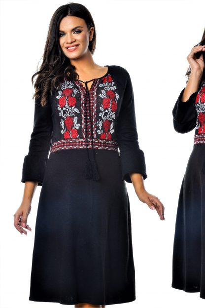 Rochie Nationala din tricot - Teodora 01