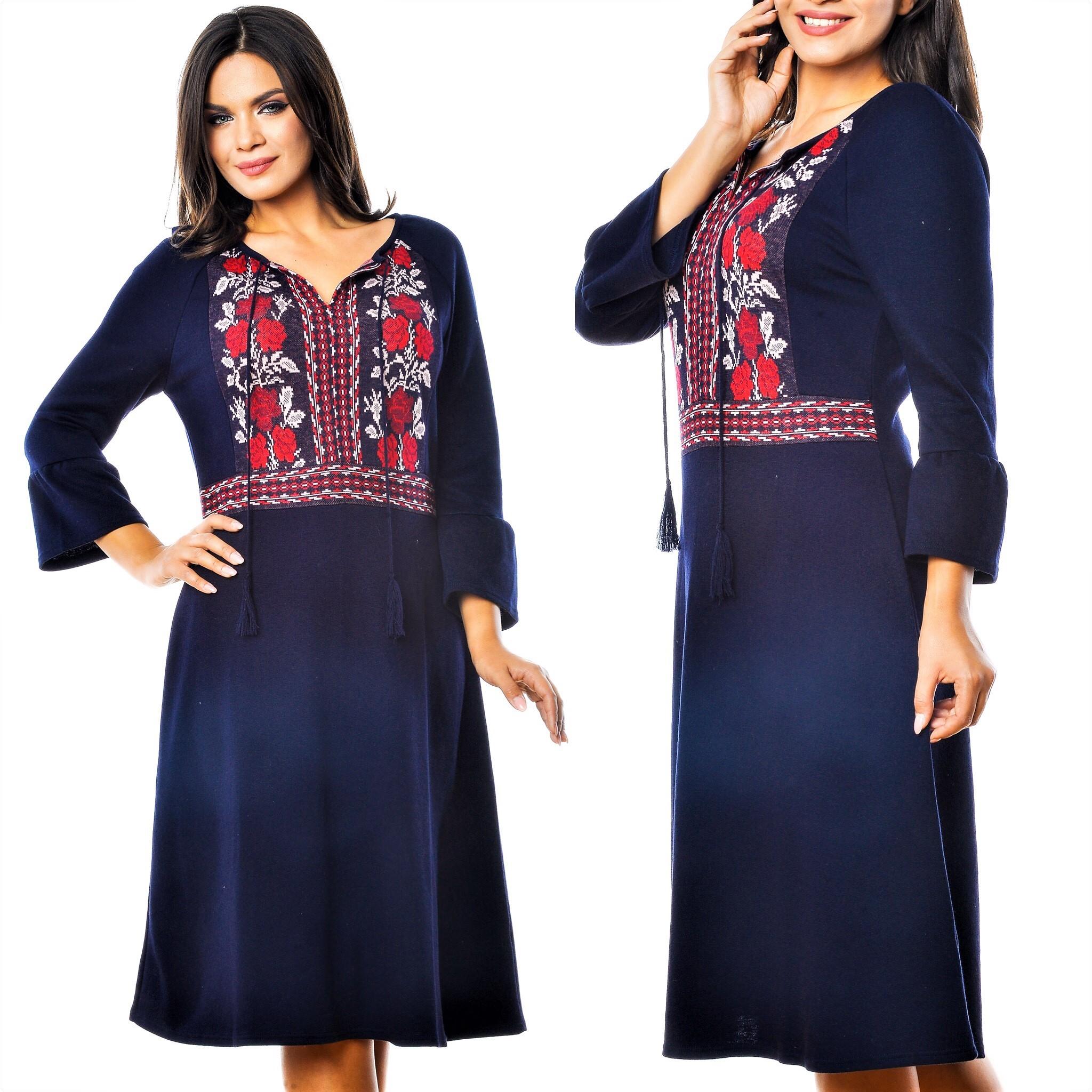 Rochie Nationala din tricot - Teodora 02