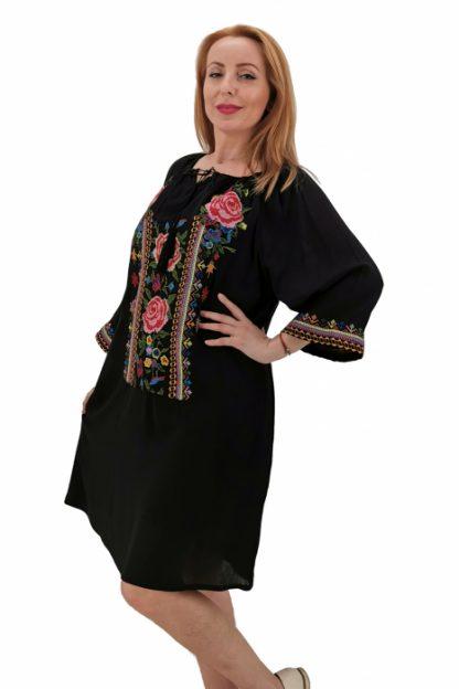 Rochie Traditionala Mela 3