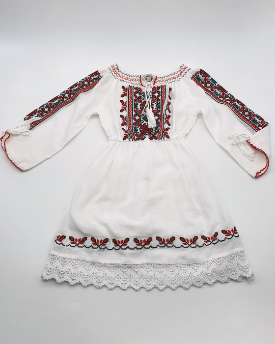 Rochie traditionala fetite Eleonor