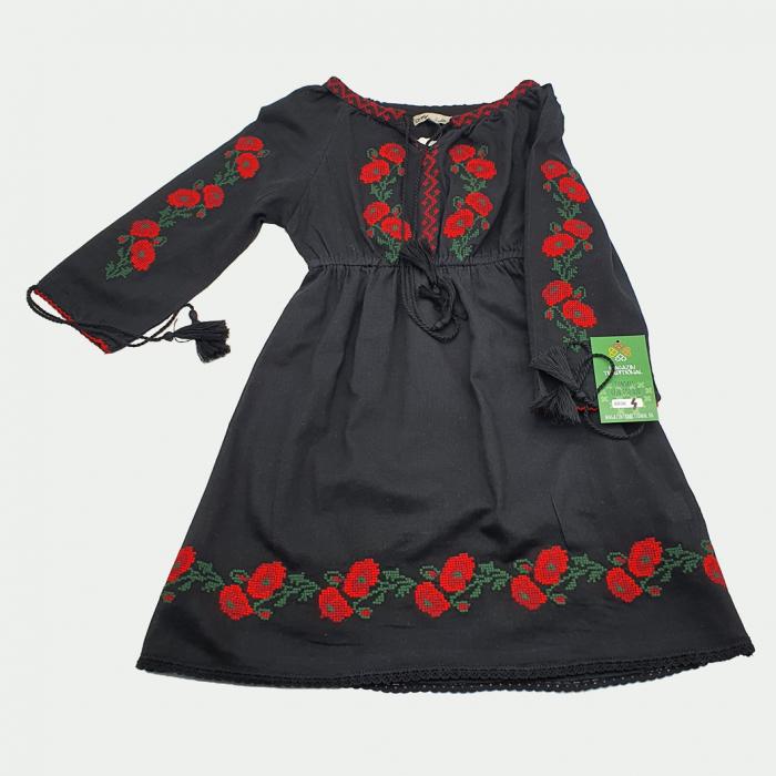 Rochie traditionala fetite Aliona 3