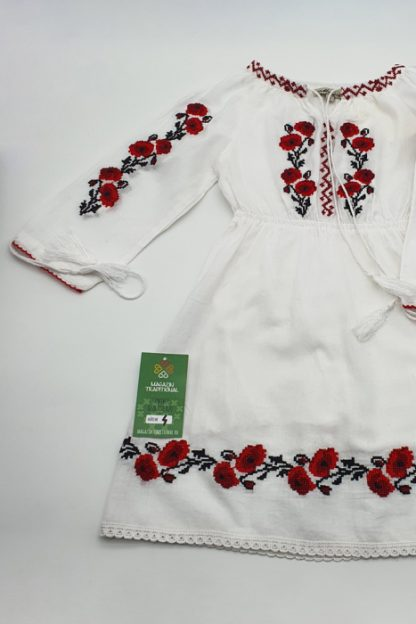 Rochie traditionala fetite Aliona 2