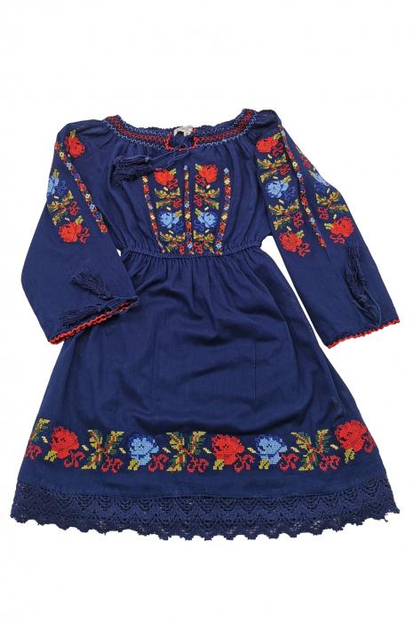 Rochie traditionala fetite Anabela 3