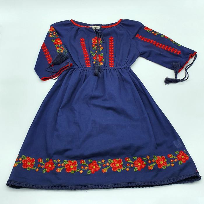 Rochie traditionala fetite Hortensia