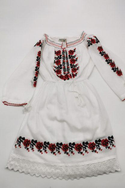 Rochie traditionala fetite Ilona