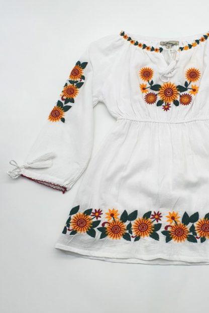 Rochie traditionala fetite Aliona