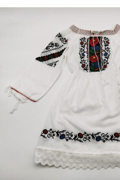 Rochie traditionala fetite Sorina