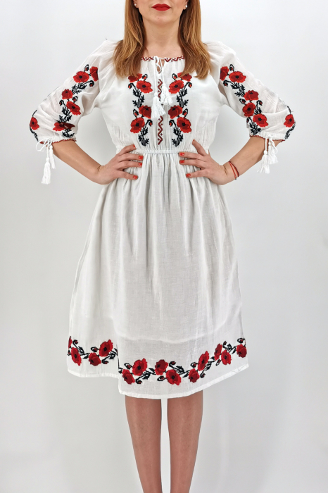 Rochie Traditionala Lacramioara