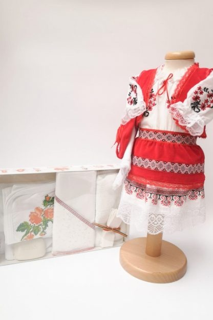Set Traditional Botez Costumas fetita Trusou 3