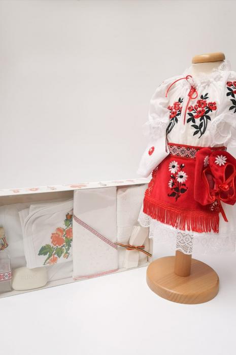 Set Traditional Botez Costumas fetita Trusou 2