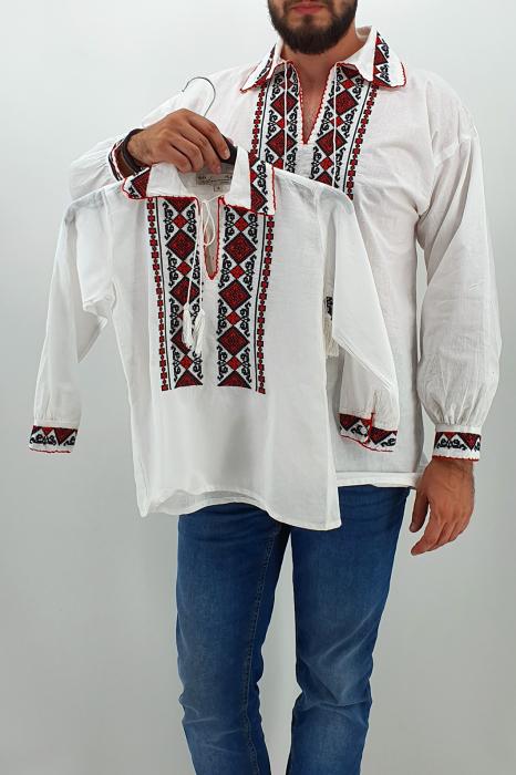 Set Traditional Camasa Tata Camasa fiu Ronald