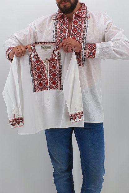Set Traditional Camasa Tata Camasa fiu Carin