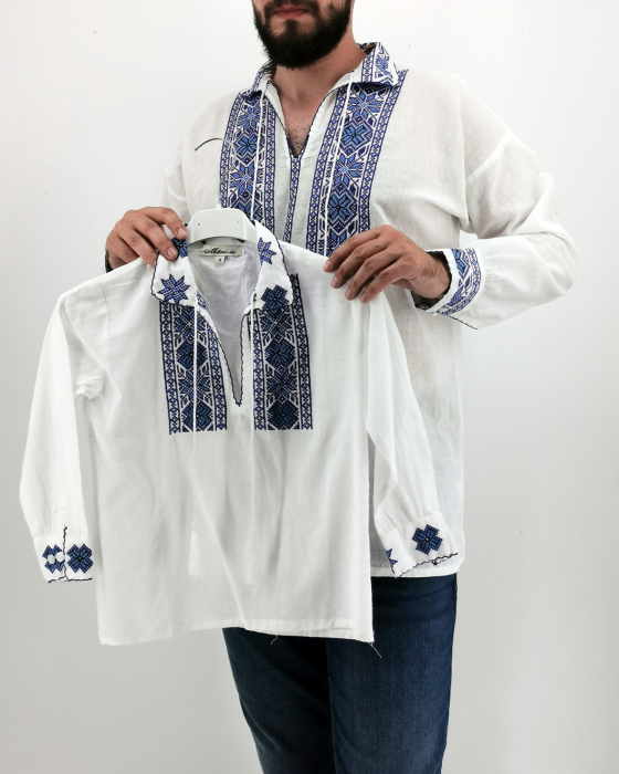 Set Traditional Camasa Tata Camasa fiu Manole 2
