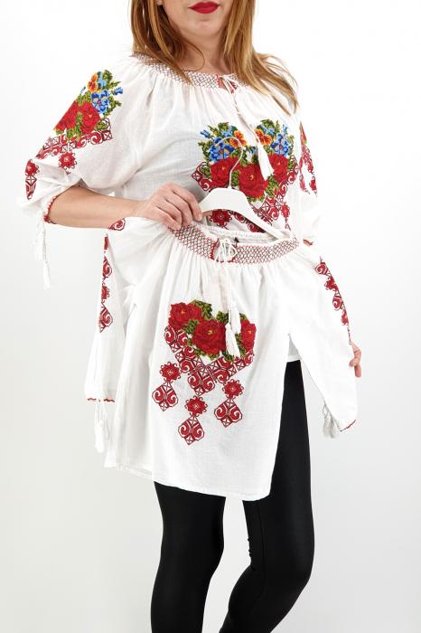 Set Traditional IE Mama IE fiica Trandafira