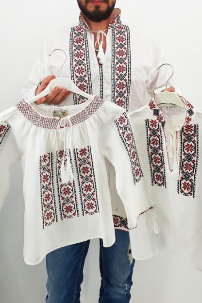 Set Traditional Mama Tata fiica fiu Dumitru