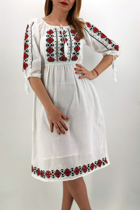 Set Traditional Rochie traditionala Mama IE Traditionala fiica Ivana